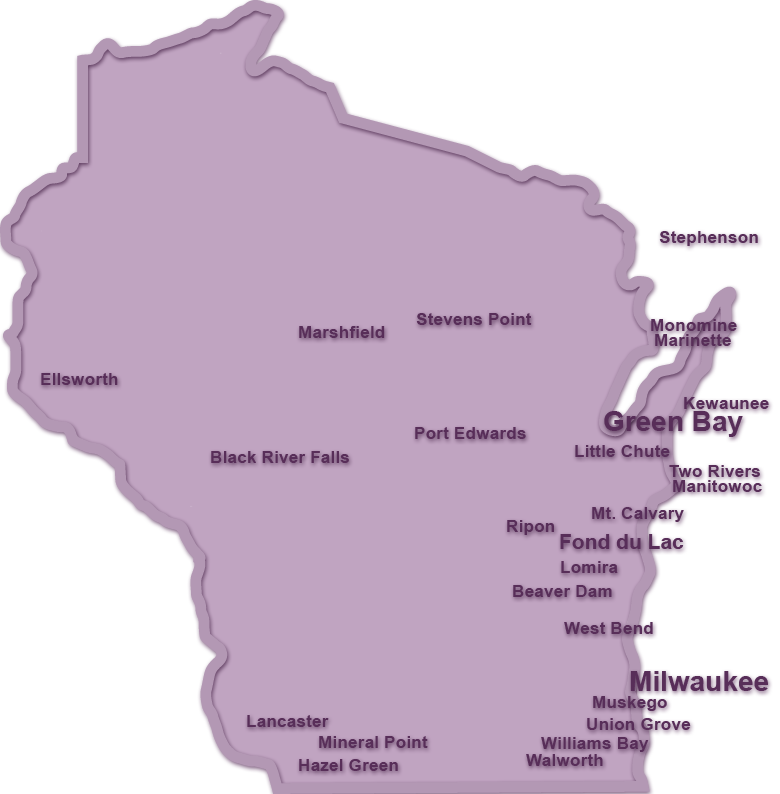 Union Grove Wisconsin Map.Greenfield Rehabilitation Agency Contact Us